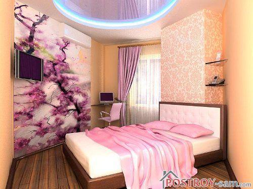Оформление маленькой комнаты