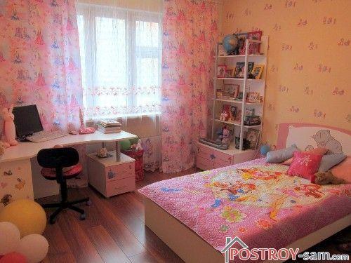 Маленькая спальня девушки
