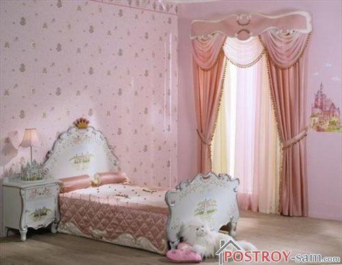 Варианты дизайна комнаты для девушки