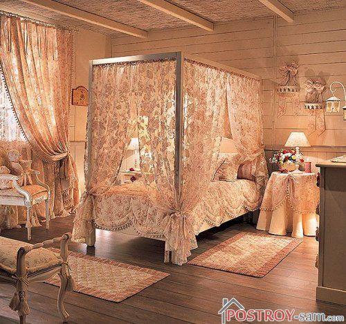 Класический интрьер спальни