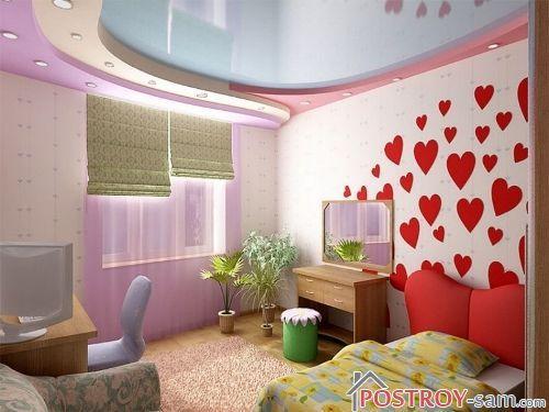 Универсальная комната для девушки
