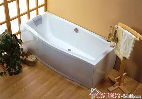 Экран, предназначенный для акриловой ванны