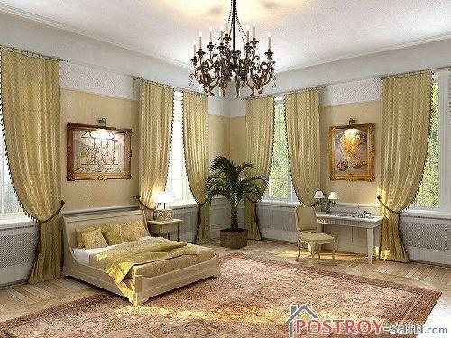 Современный классический стиль спальни