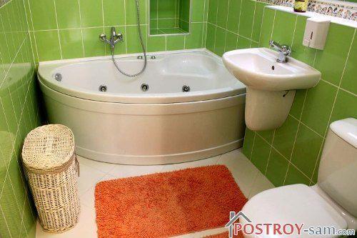 Дизайн ванной комнаты и туалета 3 кв. м