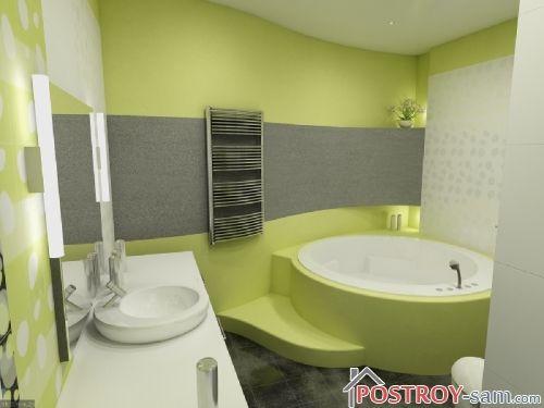 Выбор цветовой палитры для разных типов ванных комнат