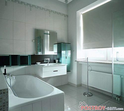 Средиземноморский стиль ванной фото