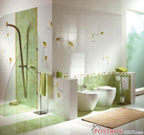 Оформление ванной комнаты и туалета своими руками