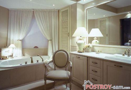 Классический стиль ванной фото