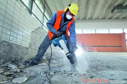 Как выбрать электрический отбойный молоток для строительных работ?