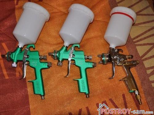Пистолеты высокого давления HP