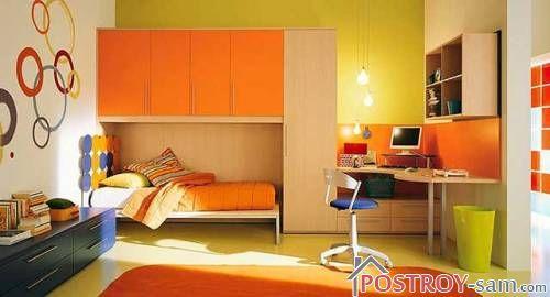 Оранжевая детская фото
