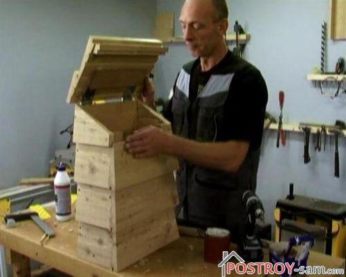 Деревянный почтовый ящик своими руками