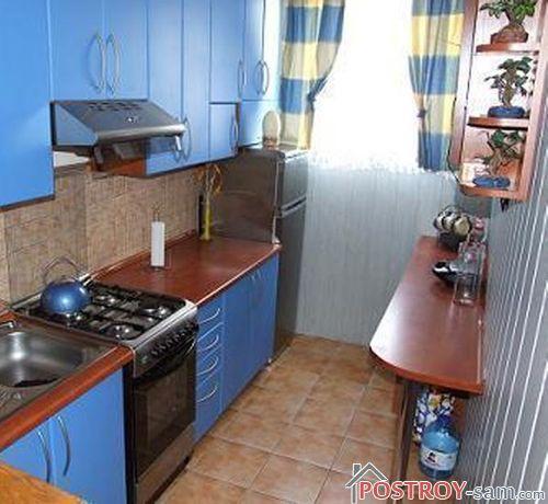 Фото маленькой узкой кухни
