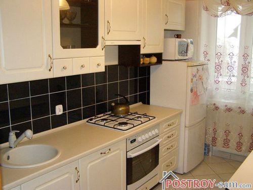 Мебель в маленькую кухню