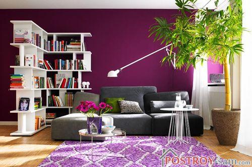 Темные фиолетовые оттенки