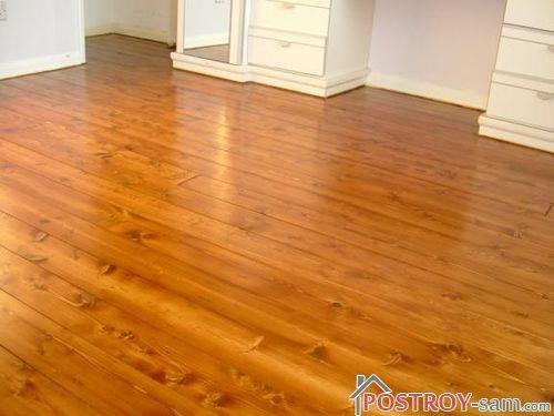 Обновление и уход за деревянным полом с разными покрытиями