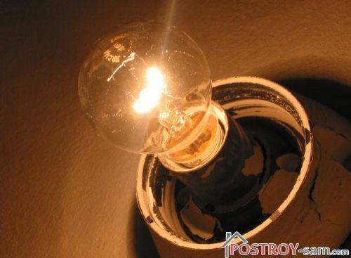 Почему перегорают лампочки? Как продлить срок службы лампы?