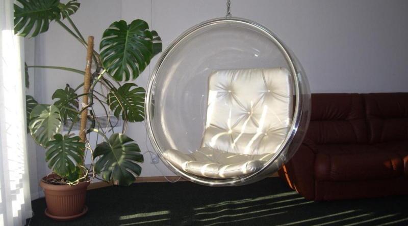 Подвесное кресло. Фото подвесных кресел в интерьере