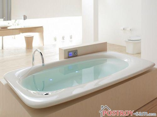 Сколько кубов воды в ванной