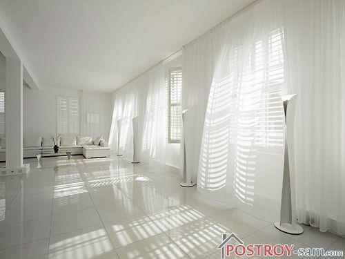 Белый цвет в интерьере. Как создать чистый легкий и воздушный интерьер?