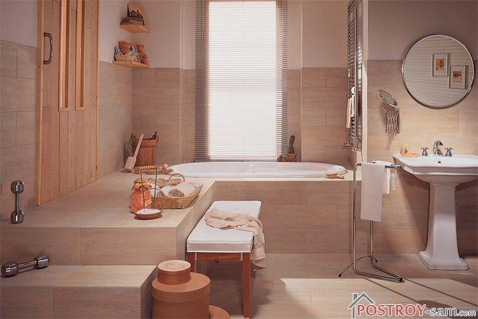Как выбрать керамическую плитку для ванной и туалета