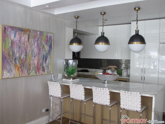 Современная картина на кухне