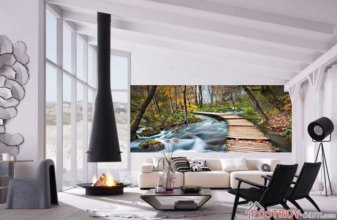 Картины в различных комнатах