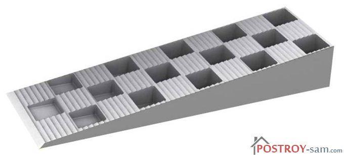 Пластиковые опорные колодки для монтажа окон