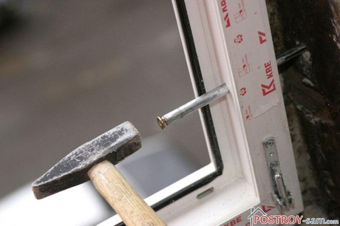 Крепление пластиковых окон. Как правильно закрепить окно в проеме?