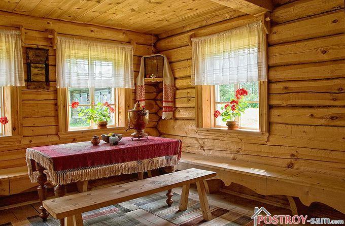 Кухня в деревенском стиле оформление
