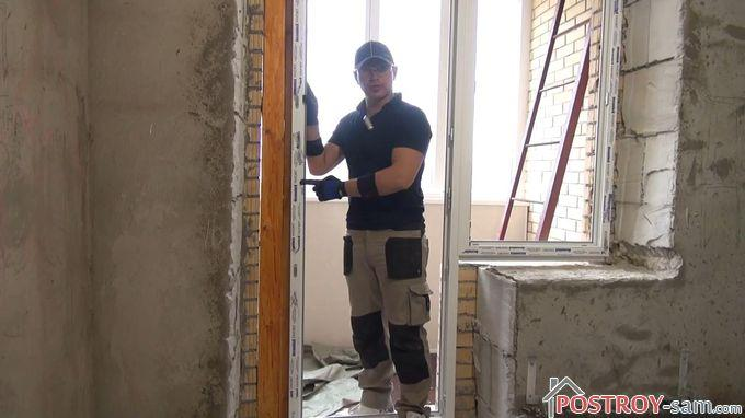 Как правильно установить балконный блок?