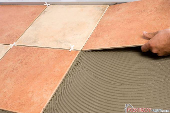 Секреты укладки керамической плитки