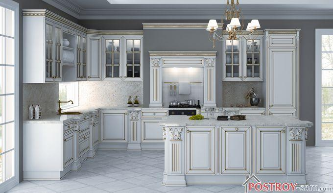 Дизайн классической кухни фото