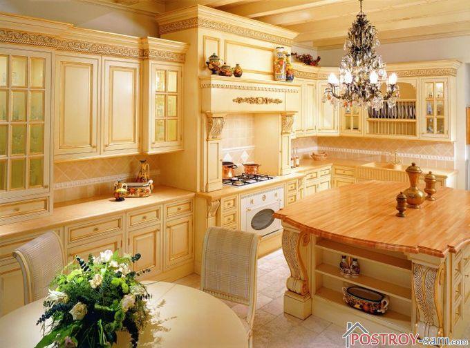 Мебель в итальянской кухне