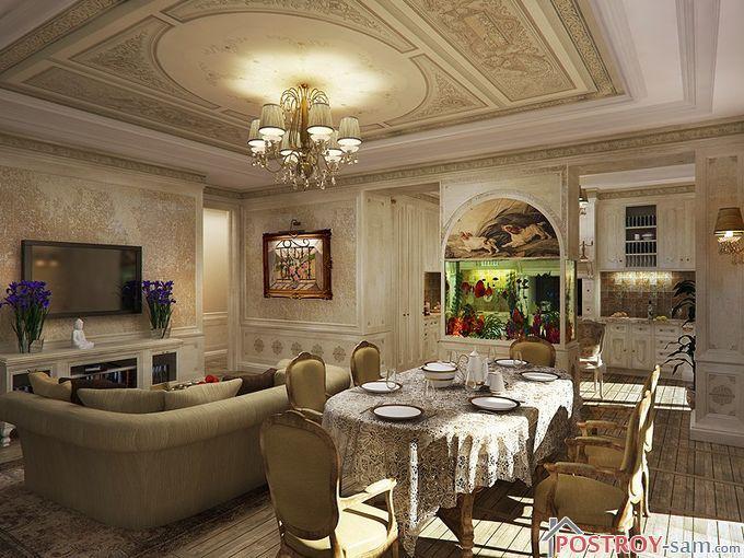 Мебель для кухни-гостиной