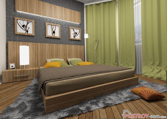 Экостиль в интерьере спальни фото