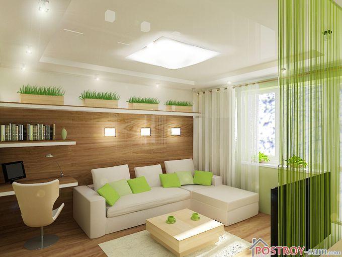 Экостиль в интерьере — правила оформления комнат