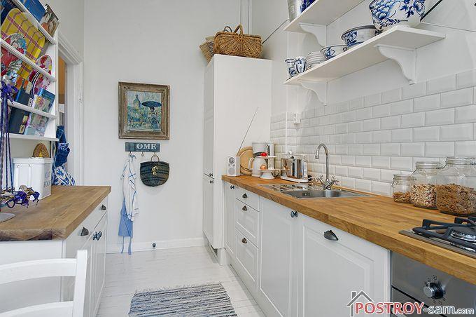 Дизайн скандинавской кухни
