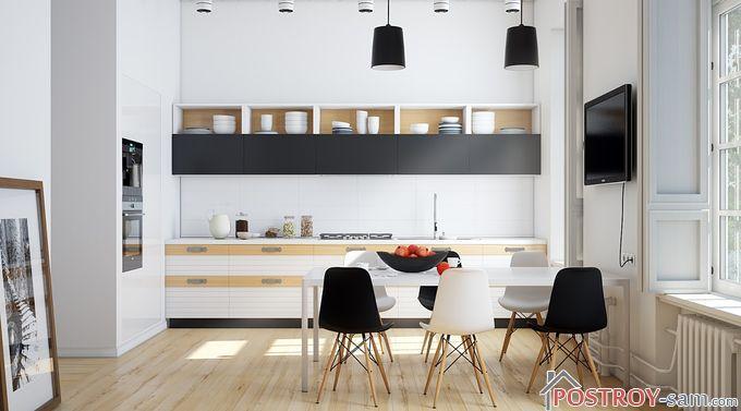 Кухня в скандинавском стиле - особенности стиля, фото