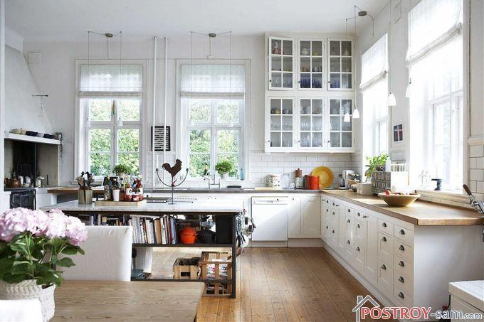 Способы оформления интерьера кухни в скандинавском стиле