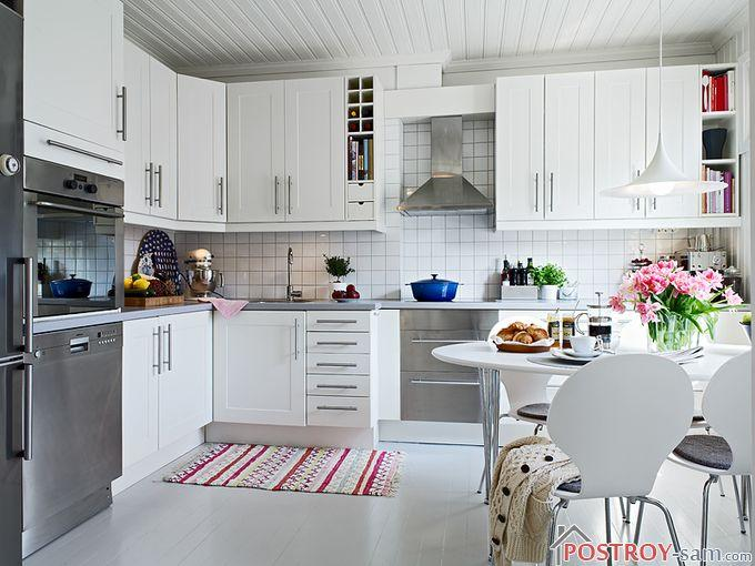 Кухня в скандинавском стиле — делаем светлую, просторную и уютную кухню самостоятельно. Фото кухни
