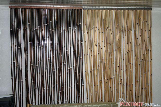 Твердые нитяные шторы