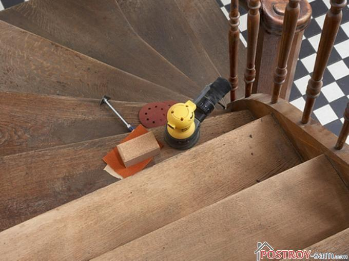 Ремонт ступеней лестницы своими руками