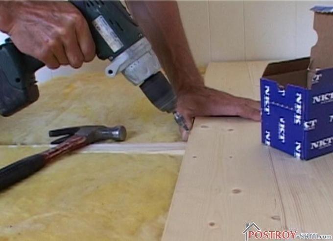 Устройство деревянного пола на лагах своими руками. Видео