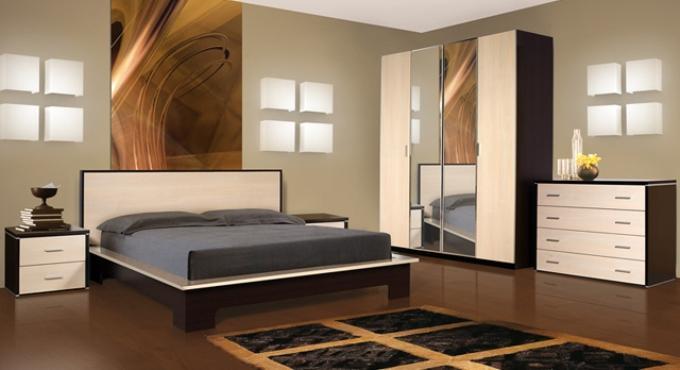 Спальные гарнитуры. Фото