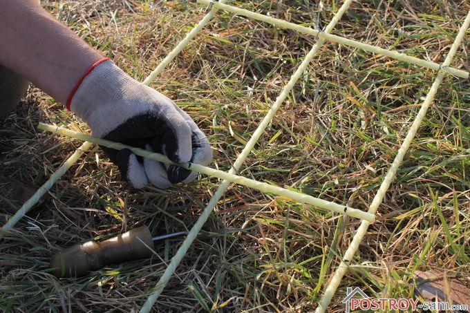 Вязание арматуры своими руками