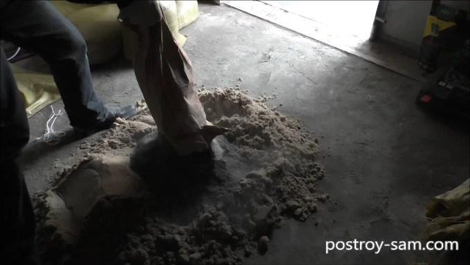 Цемент для гарцовки