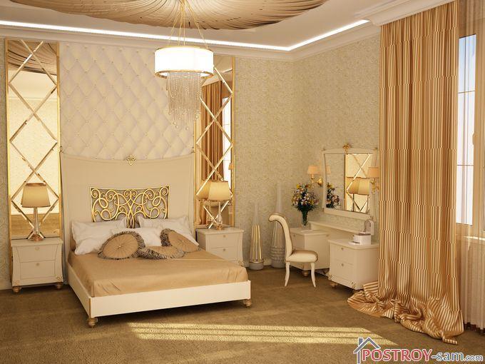 Элементы декора спальни