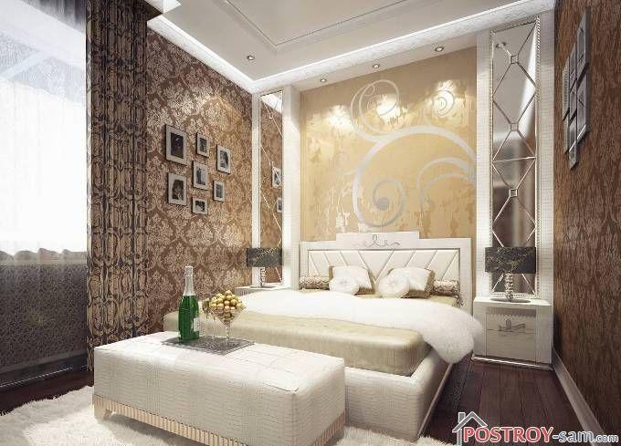 Спальня в стиле арт-деко. Фото