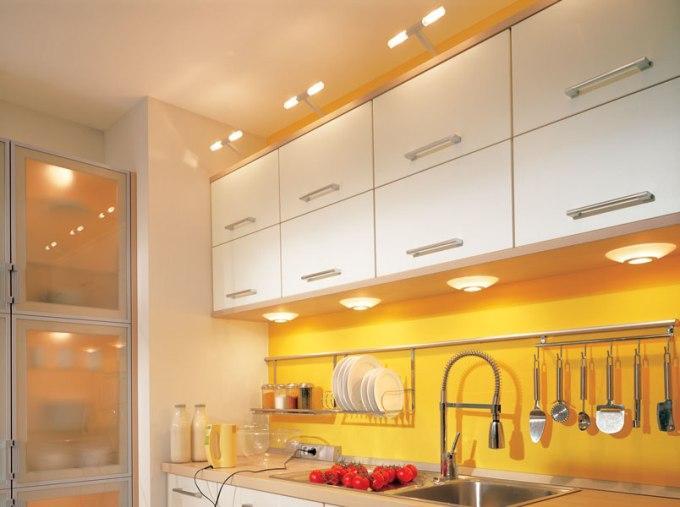 Подсветка рабочей зоны кухни